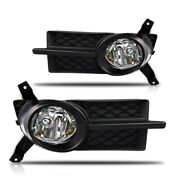 Fits 07-11 Chevy Aveo Euro Clear Lens Pair Fog Light Lamps+wiring+switch Kit Dot