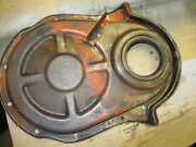 Used 1965 Chevrolet Impala 396 Timing Chain Cover For 7 Balancer/pulley/clean