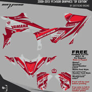 Yfz450r Graphics 2009-2013 Dfr Df Edition Gray Red Sides Fenders