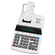 Canon Mp27dii Print Calculator - 12 Character[s] - Fluorescent - Ac Supply