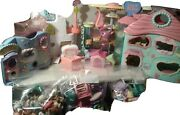 Rare Vintage Littlest Pet Shop Lightly Used Huge Lot With Xtras And Mini Sets.