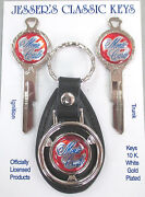 Red Monte Carlo Chevy Deluxe Classic White Gold Keys Set 1971 1975 1979 1983-85