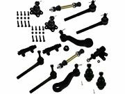 For 1995-1999 Chevrolet K1500 Ball Joint Sway Bar Link Tie Rod End Kit 69145tj
