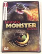 8movie 11hr+ Dvd War Of The Monsters,attack,destroy All Planets,gappa Triphibian