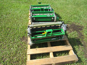 John Deeere New 18qa5 18 Reel With Rollers 180 E-cut Greens Mower W/ Brush