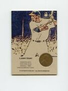 Lk.0990 Larry Doby 1951 Wheat Penny Insert Trade Card Rare