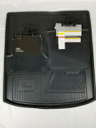 Audi A6 2011-2018 Oem 4g1061221041rubber Floor Mats Frontand Rear Pair And Cargo Mat