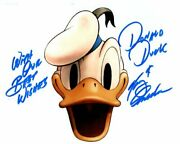 Tony Anselmo Signed Autographed Disney Donald Duck Photo Great Content