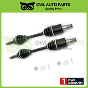 2 Rear Left And Right Cv Axle Drive Shaft Assembly Fit Polaris Rzr 800 2008-2014