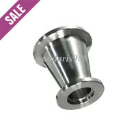 Conical Reducer Kf40 Nw40 To Kf16 Nw16 Union Ss304 Vacuum Adapter Ca