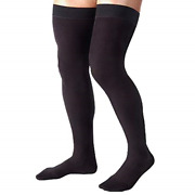 4xl Plus Size Absolute Support Compression Stockings For Men Thigh High W Black