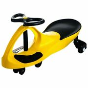 Swivel Twister Roller Coaster Wiggle Car Yellow Ride On Energy Powered Zigzag