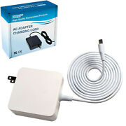 Hqrp White Usb-c Charger Ac Adapter For Jbl Charge 4 Jrpop Endurance Speakers
