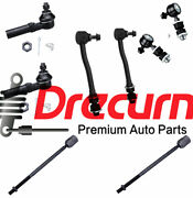 8pc Front Rear Sway Bar Link Tie Rod Kit For Mercury Villager And Nissan Quest