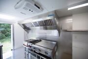 8and039 Mobile Concession Hood System With Exhaust Fan