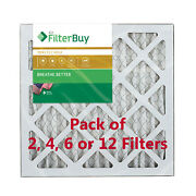Filterbuy 14x14x1 Air Filters Pleated Replacement For Hvac Ac Furnace Merv 11