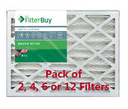 Filterbuy 16x25x4 Air Filters, Pleated Replacement For Hvac Ac Furnace Merv 13