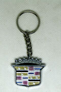 Cadillac Keychain - Handmade From The Original Logo Detail From The Car Rare