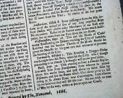 Rare Great Fire Of London Medieval City Conflagration 1666 England Newspaper