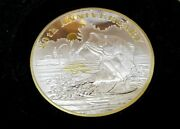 North American Fishing Club Nafc 20th Anniversary Silver Plate Collector Coin