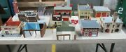 Ho Scale Model Train Houses/buildings/structures Pickup Only