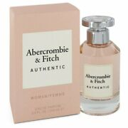 Abercrombie And Fitch Authentic Perfume For Her Edp 3.3 / 3.4 Oz New In Box