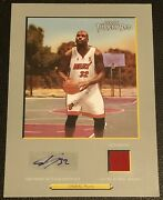 Shaquille Oand039neal 06-07 Topps Turkey Red Jumbo Box-topper Jersey Auto 08/10 Rare