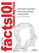 Exam Prep For United States Defense Policy Handbook By Just The Facts101 Englis