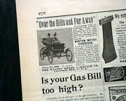 1st Electric Toy Train Carlisle And Finch And Winton Automobile Ads 1898 Magazine