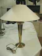Stiffel Northbrook 1353 Modern Age Mid Century Table Lamp Orig. Finial And Shade