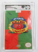 Vga Certified White Seal Nintendo Nes Attack Of The Killer Tomatoes Near Mint 80
