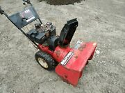 Snapper 2 Stage Snow Thrower 8 Horsepower 24 Clearing Width - Blower 8/24