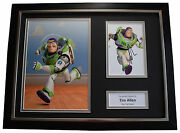 Tim Allen Signed Framed Photo Autograph 16x12 Display Film Toy Story Buzz Coa