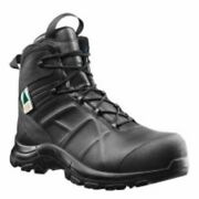 Haix Black Eagle Safety 55 Mid Side-zip Womens Boots Black 8.5 620013w-8.5