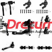 11 Pcs Steering Idler Arm Tie Rod End Ball Joint Set For Nissan D21 Pickup 4wd