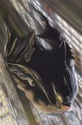 Alex Ross Rare Miracle On Crime Alley Batman Giclee Canvas Signed Unframed Coa