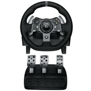 Logitech Dual-motor Feedback Driving Force Racing Wheel F/ Xbox One Ps4/3 And Pc