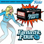 Marvel Collector Corps Fantastic Four, Human Torch Gitd, T-shirt Xl, Sealed