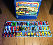 Hot Wheels Lot Of 48 Some New Euc Die-cast Cars With Carrying Case