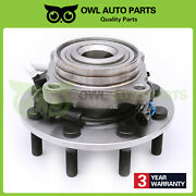 Front Wheel Bearing Hub Assembly W/abs For Chevy Gmc 2500 3500 8lug 4x4 515088