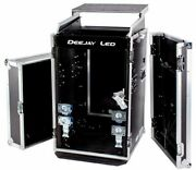 Fly Drive Case For 19-in Width Dj Amplifier Or Mixer Or Similarly Sized Equip...