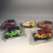 Lot Of 5 Matchbox Collectible Die Cast Kelloggs Cereal Cars And Trucks Nip
