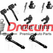 8pc Front Steering Tie Rod End Kit Ball Joint Kit For Nissan D21 Pickup 4wd