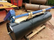 Field Roller Farm Land Ground Paddock Tractor Tow Pin/ball Hitch 24dia. 6 Foot