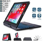 Business Rotation Smart Bluetooth Keyboard For Ipad 9.7and039and03910.2and039and03912.9and039and039+ Glass