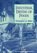 Industrial Drying Of Foods By Baker New 9780751403848 Fast Free Shipping-,