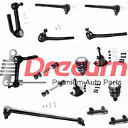 15pc Tie Rod Linkages Center Link Ball Joint Kit For Safari Astro 1990-2005 Rwd