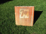 Vintage 7-up Chest Cooler End Wall Art
