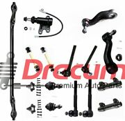 16pc Complete Front Suspension Set For Gmc And Chevy Trucks - 2wd Only
