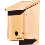 Woodlink 24345 Kiln-dried Cedar Wood Birdhouse Winter Roosting And Shelter Box